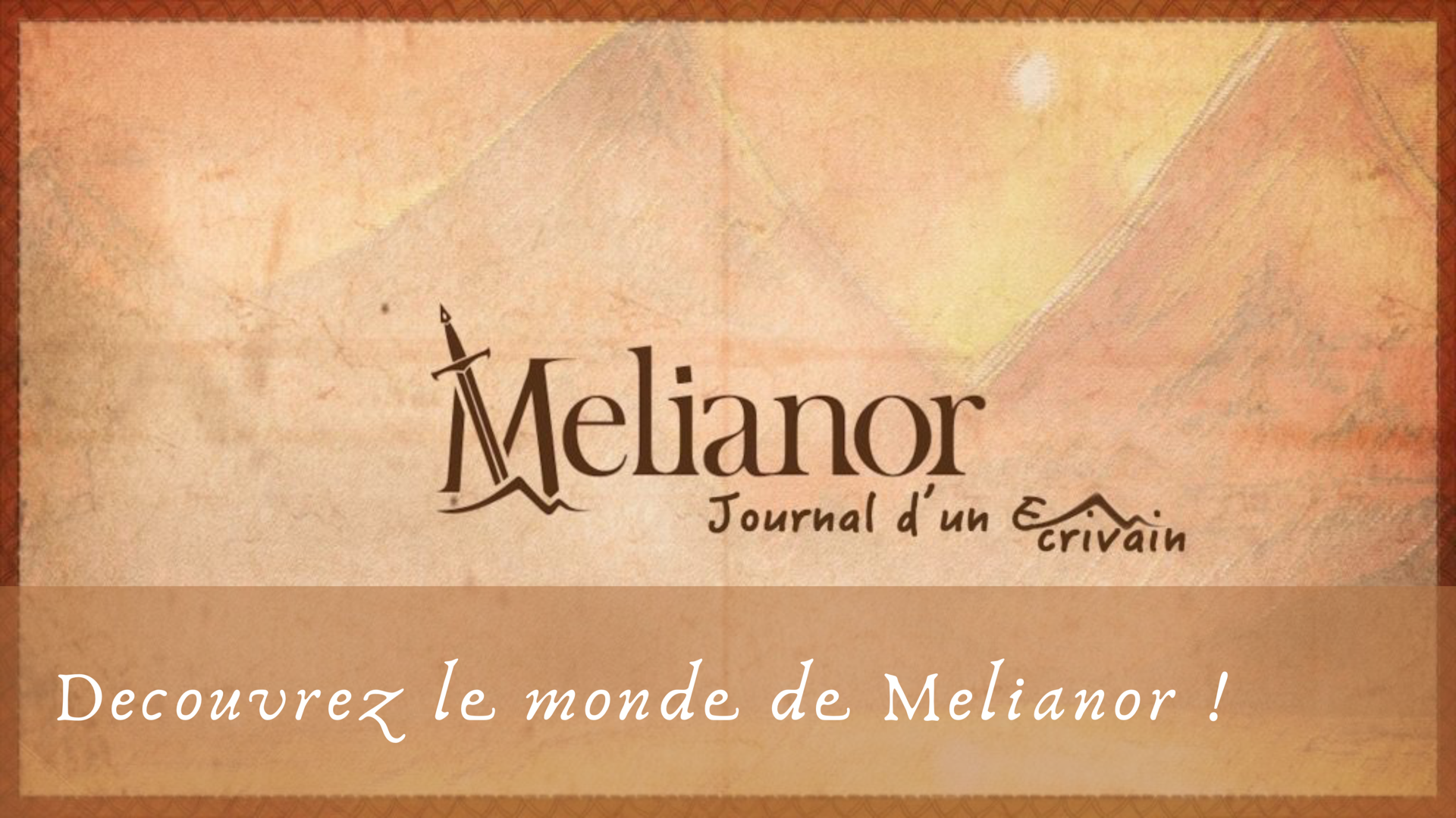 L'univers Fantasy de Mélianor