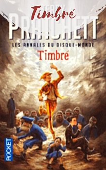 Livre Timbré de Terry Pratchett