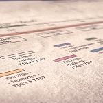 Frise chronologique qui permet de dater les évènements historiques.