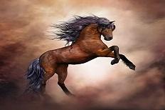 Divinité cheval