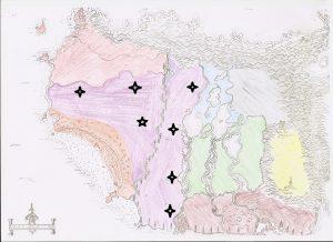 Villes présentes dans les Terres Nomades